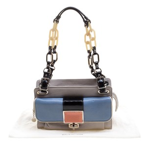 Balenciaga Leather Fabric Colorful Shoulder Bag