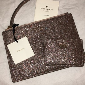 Kate Spade Holiday Multi-color glitter Clutch