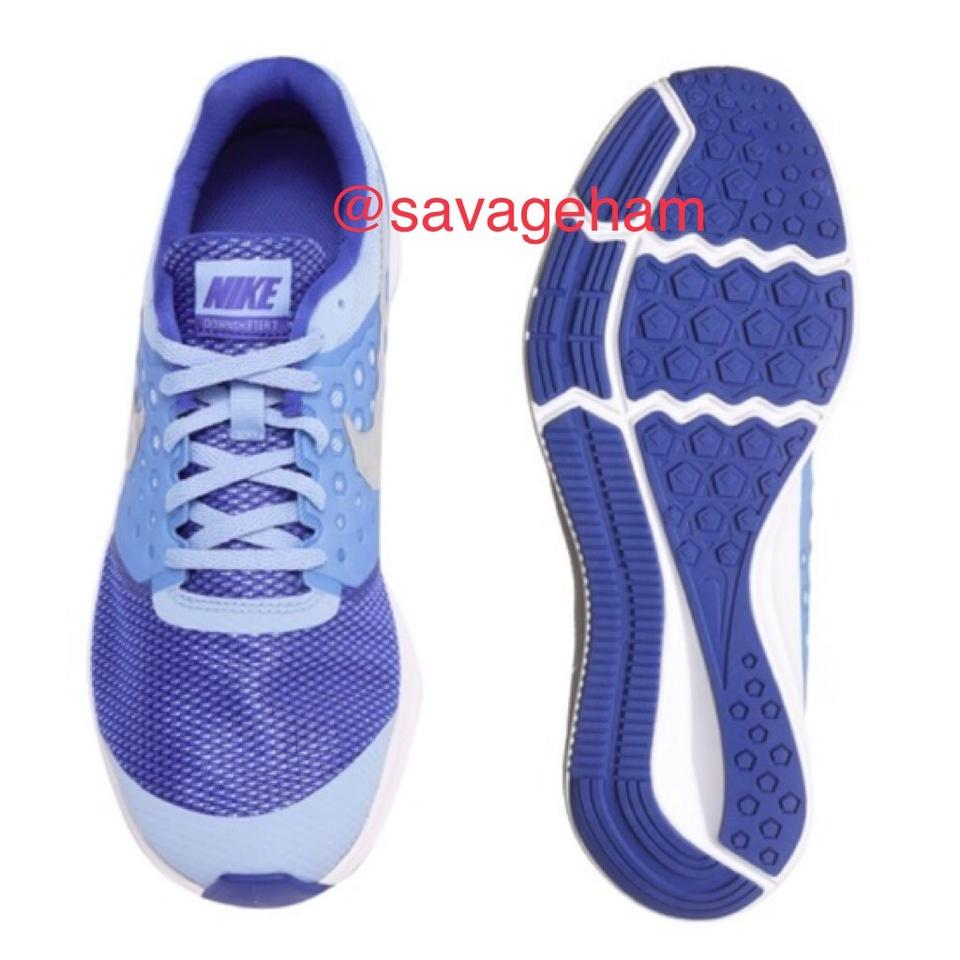 Nike Blue Girls 2.5y Downshifter 7 Running Shoes girls Youth Sneakers Size US 4 Regular (M, B) 34% off retail