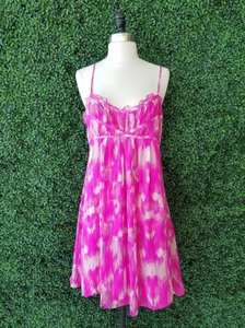 Multicolor mostly Pink Maxi Dress by INC International Concepts
