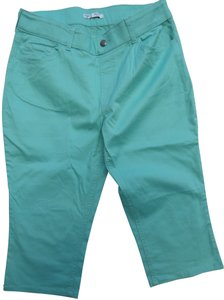 Lee Capris Mint Green