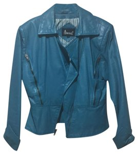 Avanti Designs blue Leather Jacket