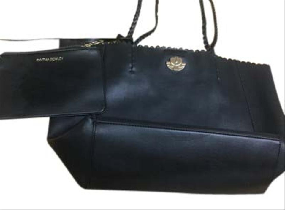 Cynthia Rowley Pouch Tote In Black