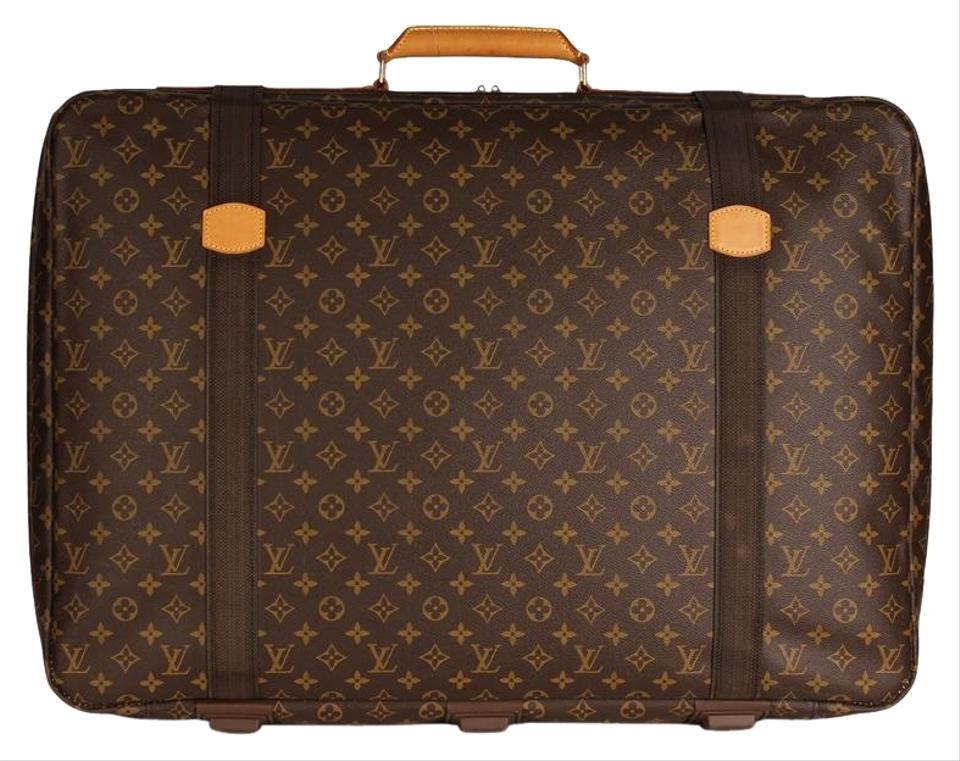 c89d44a1604c Louis Vuitton Sirius Excellent Condition Satelite 70 Monogram Suitcase 6786  Brown Canvas Weekend Travel Bag