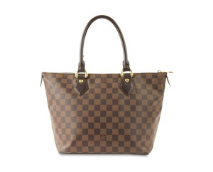 Louis Vuitton Saleya Damier Canvas Classic Tote in Brown