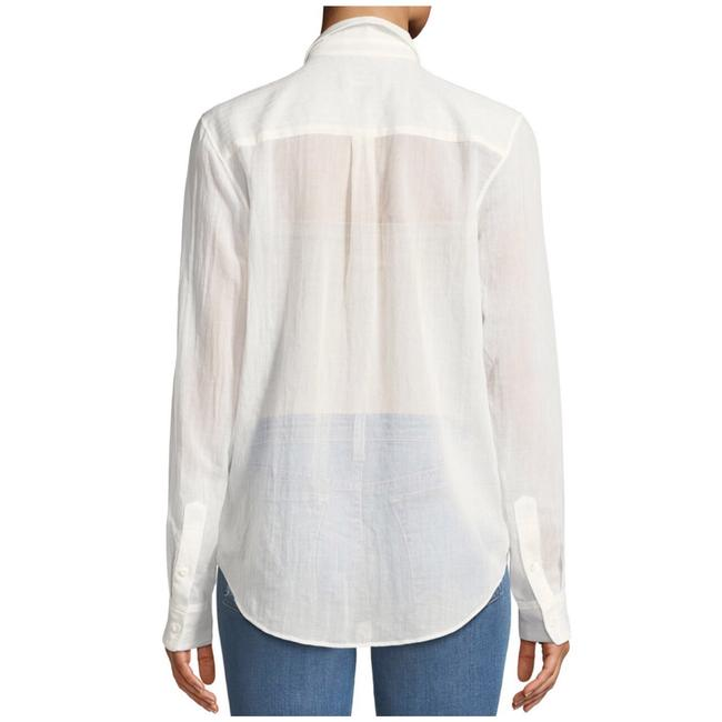 Theory Button Down Shirt Ivory Image 2