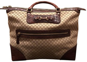 Gucci Satchel in Beige / Brown