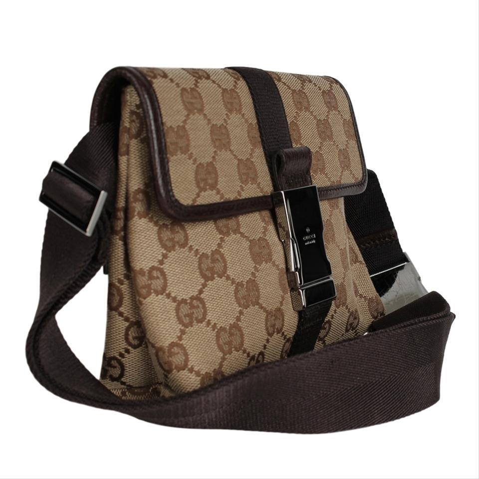 e3f7233cd Gucci Bumbag Very Nice Bum Fanny Pack 6805 Brown Canvas Weekend ...