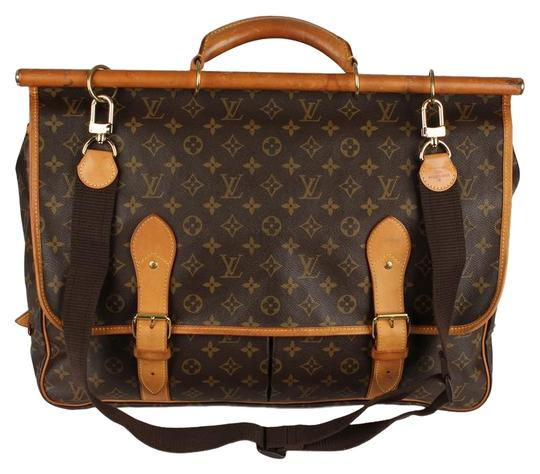 Preload https://img-static.tradesy.com/item/24311671/louis-vuitton-hunting-sac-chasse-6798-brown-canvas-weekendtravel-bag-0-2-540-540.jpg