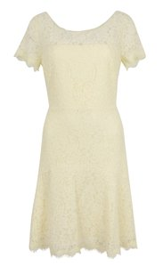 Diane von Furstenberg Fifi Fit And Flare Lace Dress