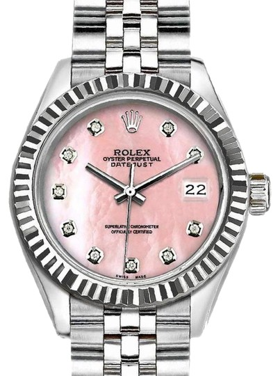 Preload https://img-static.tradesy.com/item/24311844/rolex-pink-ladies-26-mm-datejust-with-mother-of-pearl-dial-watch-0-3-540-540.jpg