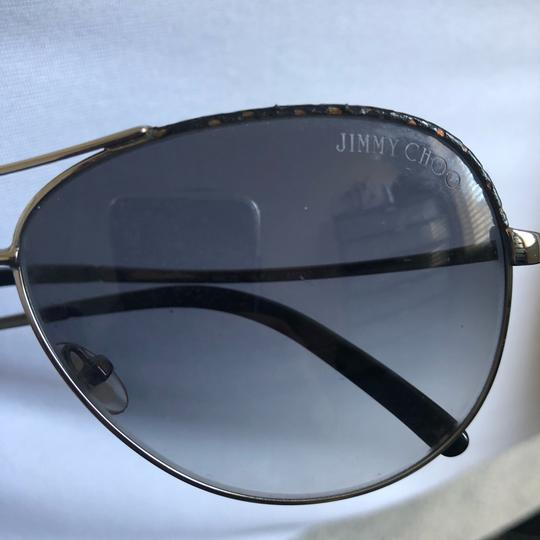 Jimmy Choo Aviator Sunglasses Image 2