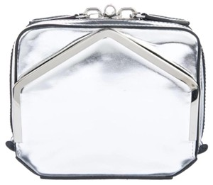 Alexander Wang Metallic Silver Clutch