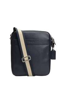 Coach New With Tags Men's Midnight Navy Blue Messenger Bag