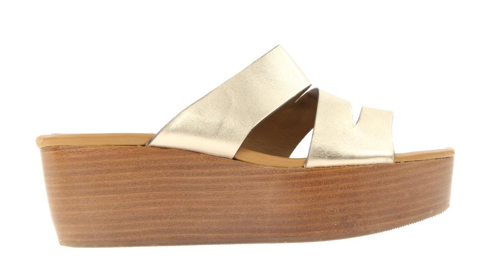 ee6c8181616 See by Chloé Gold Platform Multi-strap Sandals Size EU 39 (Approx ...