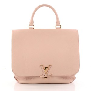 Louis Vuitton Leather Handbag Tote in light pink