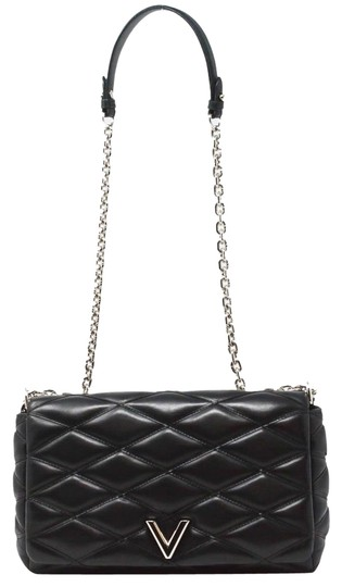 Louis Vuitton Quilted Leather Chain Silver Hardware Shoulder Bag Image 0