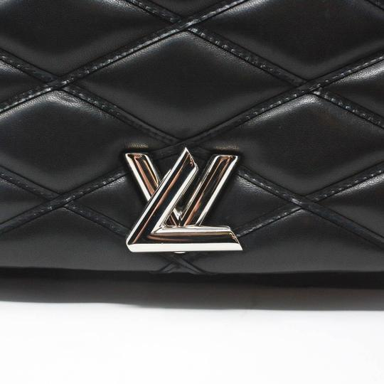 Louis Vuitton Quilted Leather Chain Silver Hardware Shoulder Bag Image 1