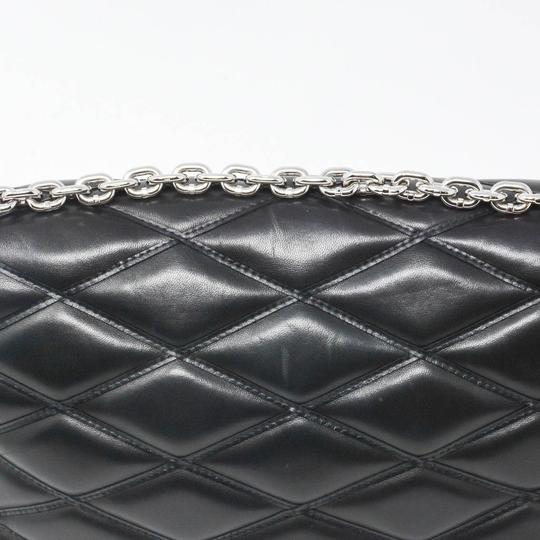 Louis Vuitton Quilted Leather Chain Silver Hardware Shoulder Bag Image 5
