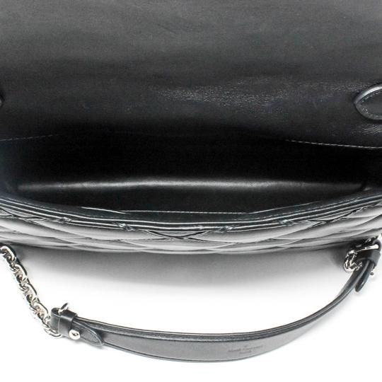 Louis Vuitton Quilted Leather Chain Silver Hardware Shoulder Bag Image 9