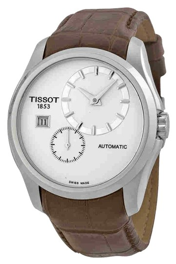 Preload https://img-static.tradesy.com/item/24312309/tissot-white-brown-couturier-chronograph-silver-dial-men-s-leather-watch-0-3-540-540.jpg