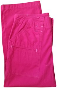 Izod Pockets Capris Red