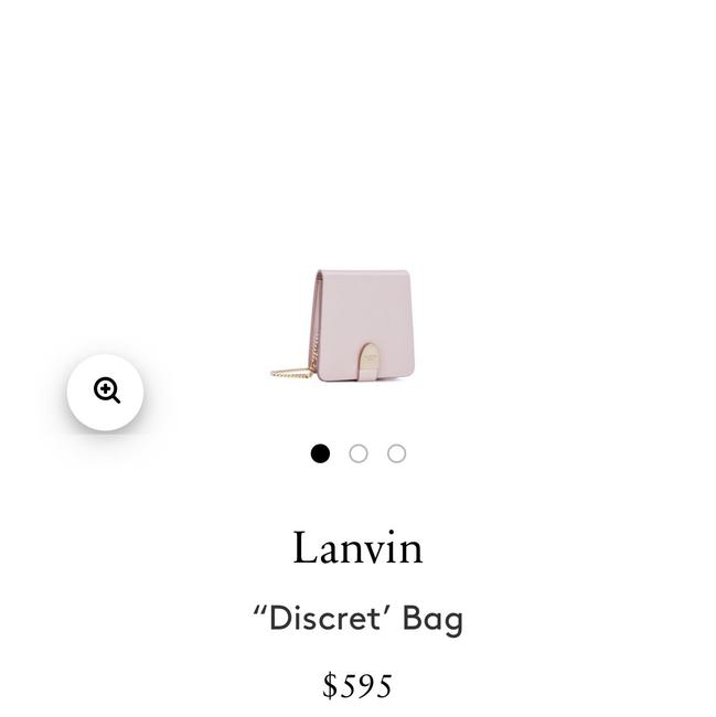 Item - Mini Discret Pink Cross Body Bag