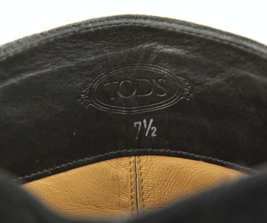 Tod's Black Boots Image 8