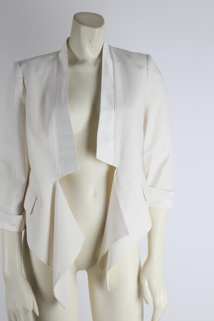 BCBGMAXAZRIA Party White Jacket Image 3