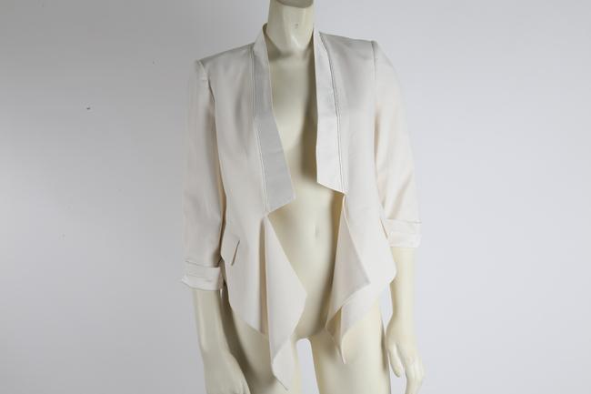 BCBGMAXAZRIA Party White Jacket Image 4