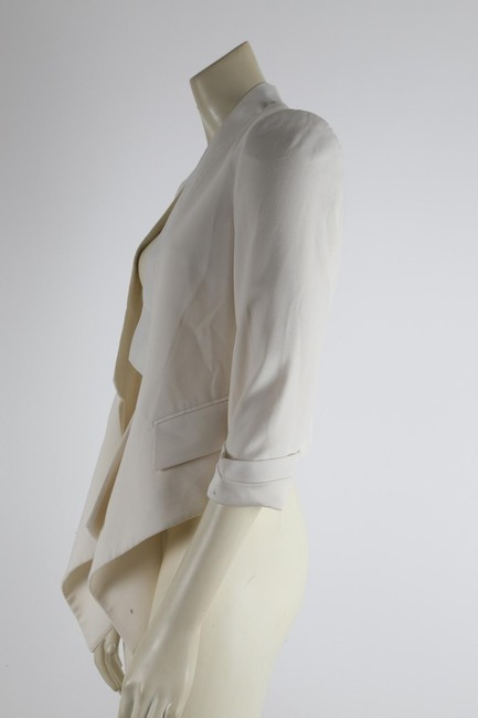 BCBGMAXAZRIA Party White Jacket Image 5
