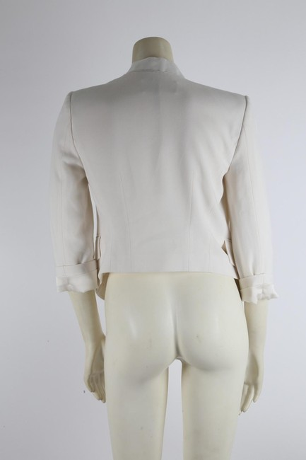 BCBGMAXAZRIA Party White Jacket Image 6