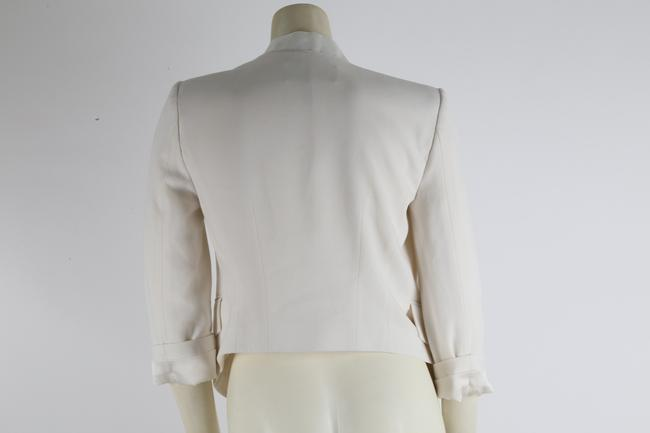 BCBGMAXAZRIA Party White Jacket Image 7