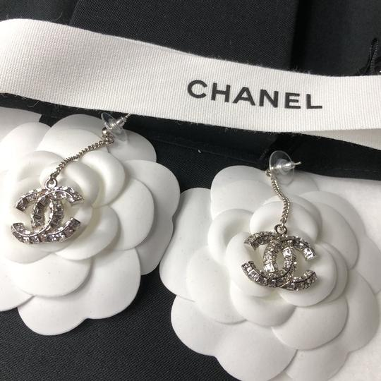 Chanel Chanel Crystals Dangling Earrings Image 3