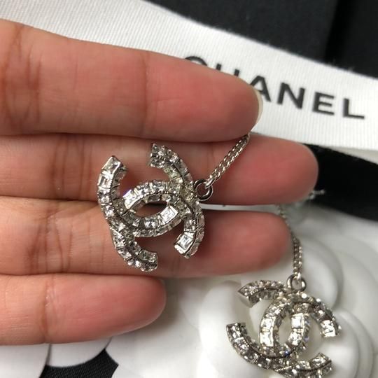 Chanel Chanel Crystals Dangling Earrings Image 4