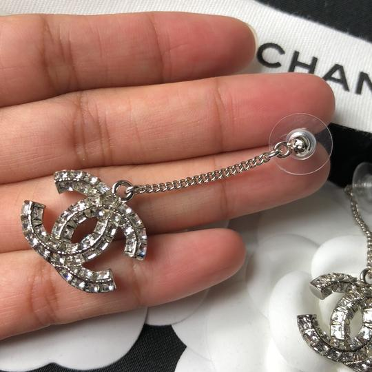 Chanel Chanel Crystals Dangling Earrings Image 5