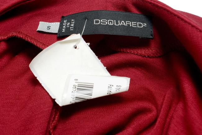 Dsquared2 Top Burgundy Image 3