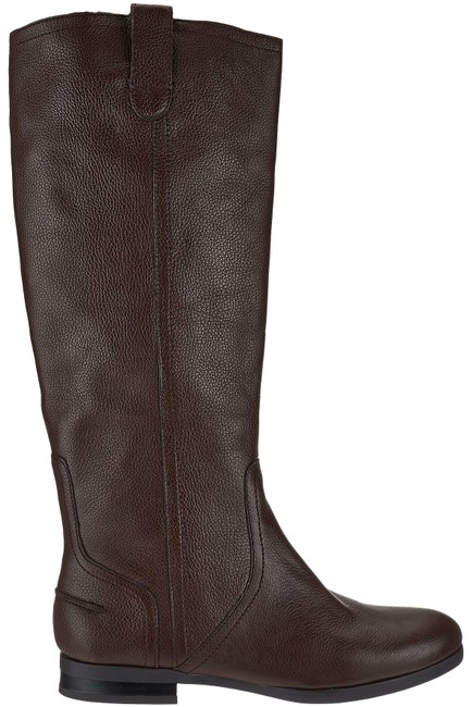 Item - Brown H By Amy Pebble Leather Riding Boots/Booties Size US 8 Regular (M, B)