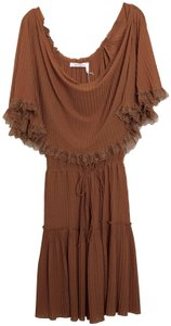 See by Chloé short dress brick brown on Tradesy
