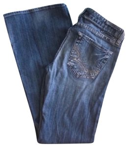 Big Star Sweet 29 X 31 Boot Cut Jeans-Medium Wash