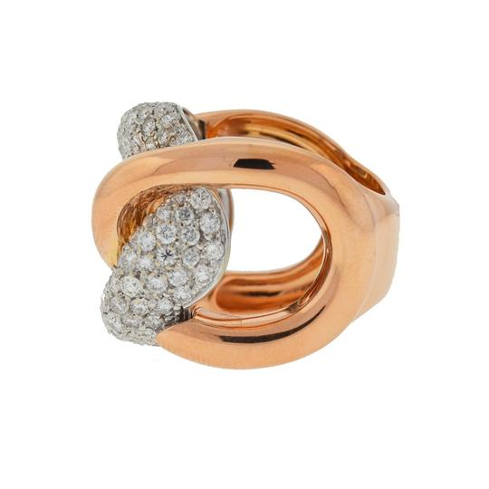 Other 18k Rose Gold Pave Diamond Free Form Rings Approx 2.32TCW Image 3
