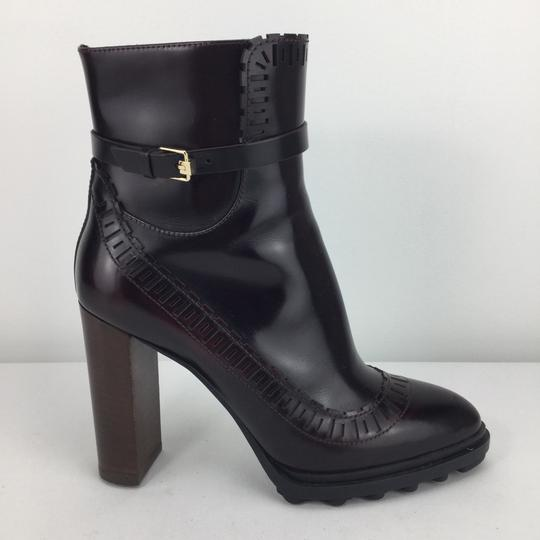 Tod's burgundy Boots Image 2