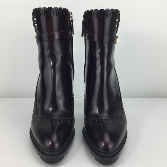 Tod's burgundy Boots Image 3