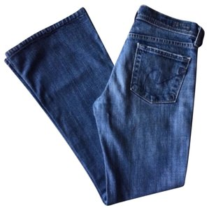 Citizens of Humanity Womens 25 X 28 Boot Cut Jeans-Medium Wash