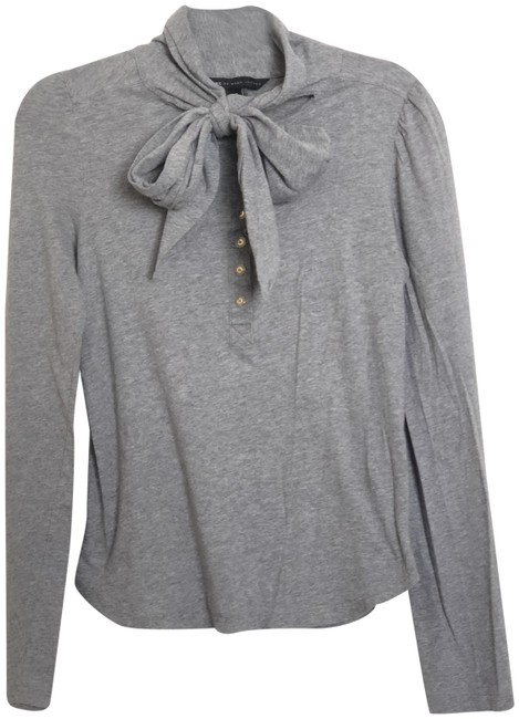 Preload https://img-static.tradesy.com/item/24313181/marc-by-marc-jacobs-heather-grey-equestrian-style-button-down-top-size-4-s-0-3-650-650.jpg