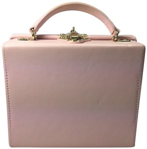 Pop and Suki Leather Camera Style Gold Hardware candy cotton Clutch