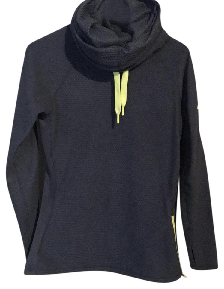 496be01004deb Nike Blue with Lime Green Accent Activewear Top Size 8 (M) - Tradesy