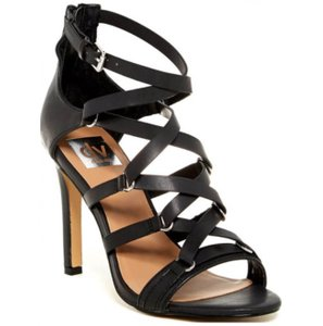 Dolce Vita New With Box Black Leather Strappy High Heel Formal
