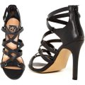 Dolce Vita New With Box Black Leather Strappy High Heel Formal Image 1