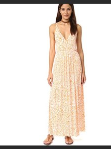Tangerine Leopard Maxi Dress by Clayton